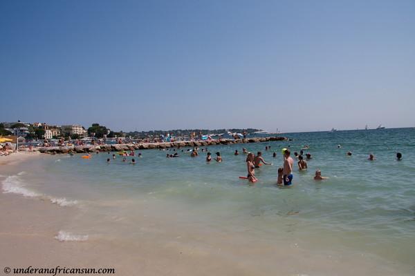 Beach at Juan-les-Pins